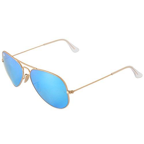 ray-ban-unisex-sonnenbrille-aviator-gr-large-herstellergre-58-gold-gold-112-17glser-kristall-grn-ges