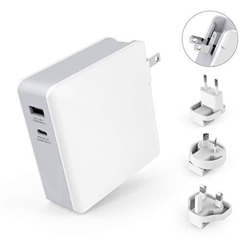 Alsterplus 100/112W USB C Ladegeraet Adapter, Power Delivery PD 3.0 USB Stecker Kompatibel für WacomMobileStudioPro,MacBookPro,MacBookAirThinkPad,Laptop,Notebook,HPASUSSamsungLenovoDell 15.4 Im Laptop