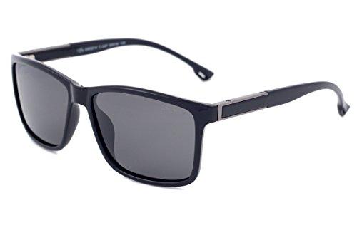 Grey Wolf Polarisierte Fahren Sonnenbrille Angeln Sport Hellgraue Gläser Keine Blendung UV400 UVA & UVB Strahlenschutz, Filterkategorie 3 Fahrbrille