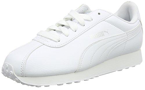 Puma Herren Turin Low-top Weiß (bianco-bianco 05)