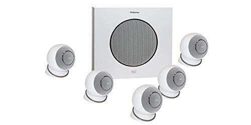 Cabasse Eole 4 Lautsprecher für Heimkino 5.1, Weiß