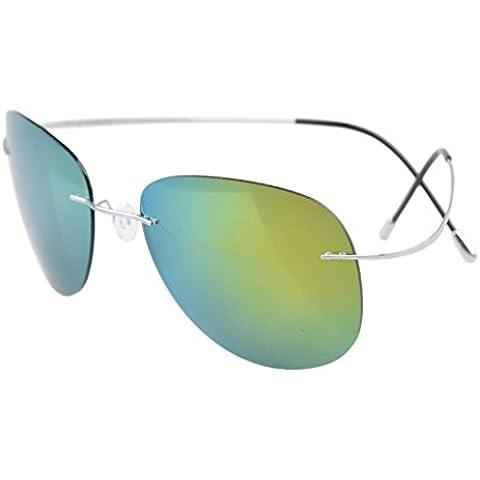 Eyekepper ispirazione vintage retro rotondo occhiali da sole donne