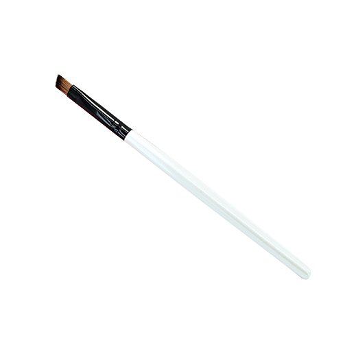 LUBITY Sourcil Cosmétiques Maquillage Brosse (Blanc)