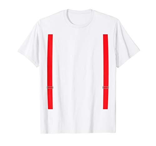 Feuerwehrmann Kostüm T-Shirt