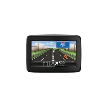 TomTom Start 20 Central Europe Traffic Navigationssystem (11 cm (4,3 Zoll) Display, TMC, Fahrspur- & Parkassistent, IQ Routes, Favoriten, Europa 19) schwarz