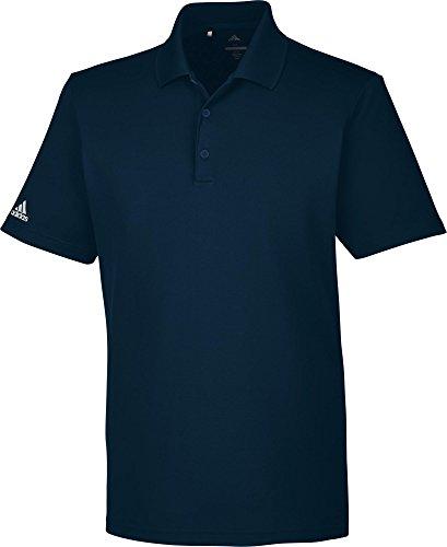 Adidas Golf Shirt Blau (adidas Performance Polo mit Sonnenschutz UPF 50+ von Golf, Herren L blau)