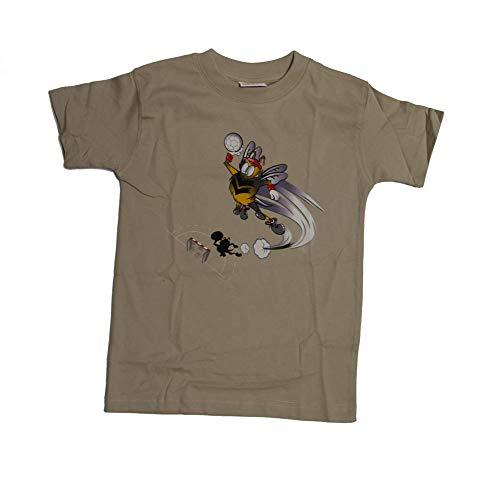 hummel Handball Bee Shirt, beige, Größe:8 (128)