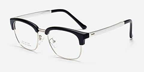 XXFFH Sunglasses Polarized Light Shade Glasses 2016 New Vintage Frame Aluminum-Magnesium Leg-Plain Mirror , Sand Black