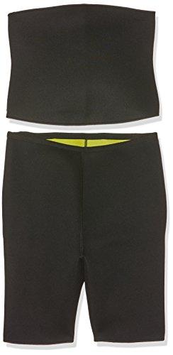 BEAUTYTHERM Sl103N Set de Pantalon Ceinture de Sudation Femme, Noir, FR (Taille Fabricant : L-XL)