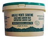 Secchiello Argilla Verde Polvere Superfine - Naturado - biologica certificata - 2,5 kg