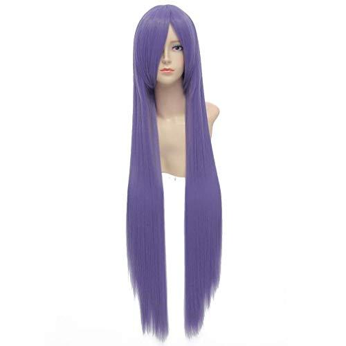 Baisheng Gintama 100cm púrpura recta largo sintético