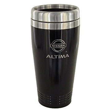 Nissan Altima Black Travel Mug by Nissan Nissan Travel Mug