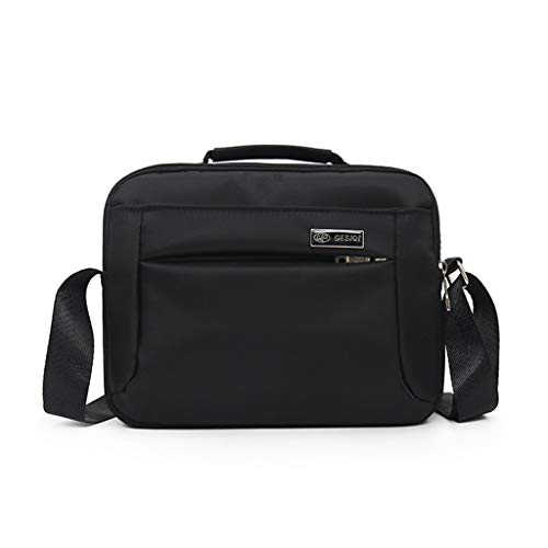 JUSTSELL ❥ Herren Business Umhängetasche Messenger Bag Tasche Black Umhängetasche Groß Arbeitstasche Aktentasche Business Herren Und Damen