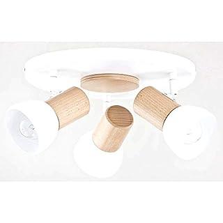 ALFA Santo Weiß Plafond 3 Deckenbeleuchtung Deckenleuchte Deckenstrahler Deckenspot