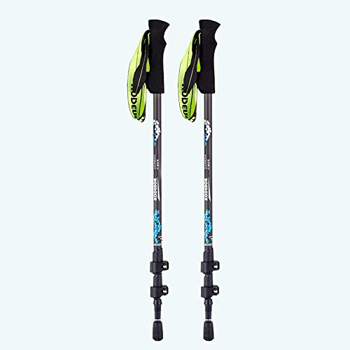 Carbon-faser-stöcke (Nordic Walking Trekkingstöcke, Carbon Faser Verstellbarer Stock, Schnell Verriegelbare Trekkingstöcke, Outdoor-Wandercamping Für Männer Und Frauen)