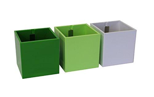 kalamitica-set-da-3-cubi-vaso-magnetico-diametro-6-cm-toni-verdi