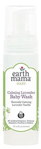 Champú y lavado de cuerpo para bebé con diseño de ángel de Earth Mama