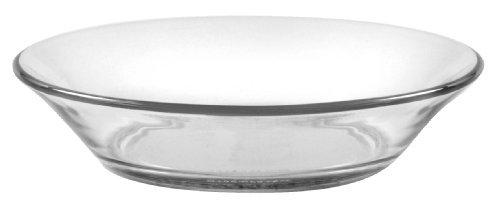 Duralex - Lys Assiette calotte Transparent 17,5 cm (6 7/8 en) Lot de 6 par Duralex