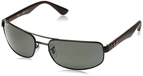 Ray Ban Unisex Sonnenbrille RB3445 Gestell: Schwarz, Gläser: Polarized Grau Klassisch 006/P2), X-Large (Herstellergröße: 61)