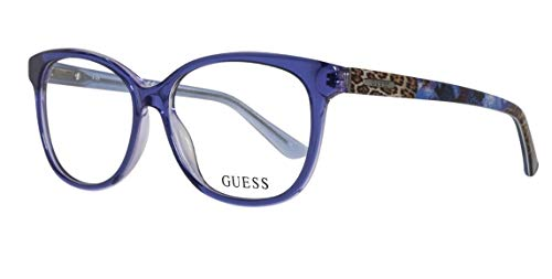 08bf2b8746 GUEX5 Brille GU2505 52090, Monturas de gafas para Mujer, Azul (Blau) 52
