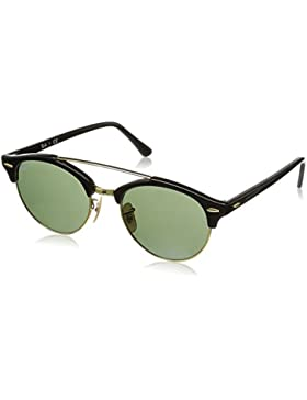 Ray-Ban Sonnenbrille Clubround Double Bridge (RB 4346)