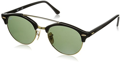Ray-Ban UV Protected Round Men's Sunglasses - (0RB434690151|51 Green lens)