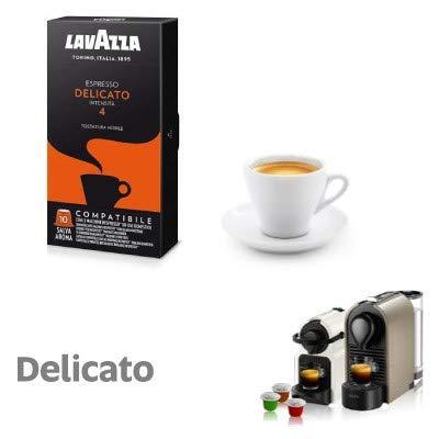 100 capsule caffè Lavazza compatibili NESPRESSO MISCELA DELICATO