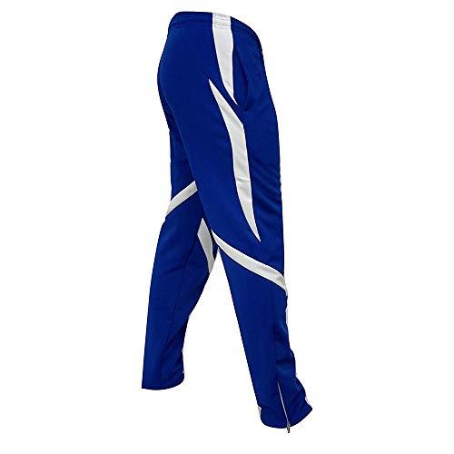 UJUNAOR Herren Sport Freizeithose Sweatpants Strandhosenmit Regular Fit Männer Gym Trainingshose Jogging-Hose Outdoorhose Freizeithose Anglerhose(Blau,EU 50/CN 2XL)