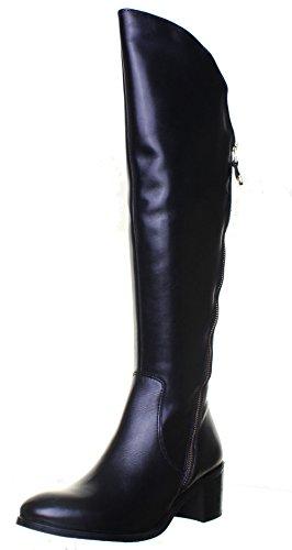 Justin Reece, Damen Stiefel & Stiefeletten  Schwarz Black N18