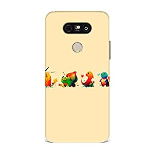 OO LaLa Ji Protective Back Cover For LG G5