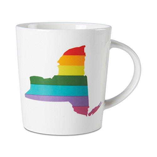 Pfaltzgraff Rainbow State Tasse new york
