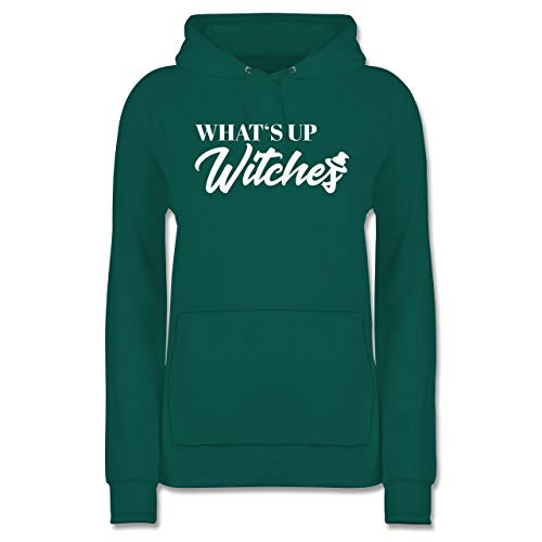 Shirtracer Halloween - Whats up Witches - S - Türkis - JH001F - Damen ()