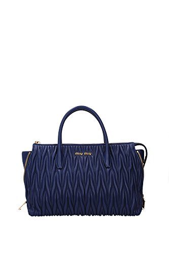 5BB016INCHIOSTRO-Miu-Miu-Hand-Bags-Women-Leather-Blue