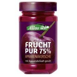 Allos Amarenakirsch-Fruchtaufstrich Frucht Pur (250 g) - Bio