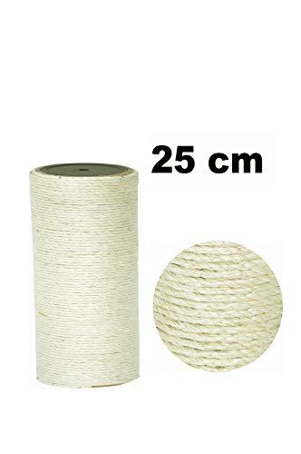 nanook Kratzbaum Ersatzstamm Sisalstamm - Verschiedene Längen - Durchmesser 11 cm Ø für Gewinde M8 - Länge 25 cm -