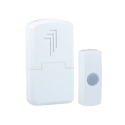 Byron DB301 30m Wireless Portable Door Chime Kit with 1 Sound Test