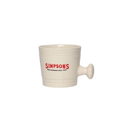 Bol de porcelaine L Simpsons Blanc