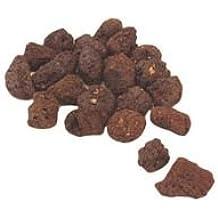 LAPILLO CDF00715 - Roca volcánica para barbacoa en caja, 2 kg, color rojo