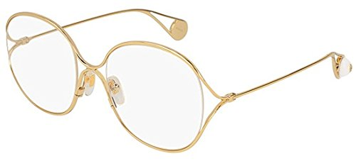 Gucci Brillen GG0254O GOLD Damenbrillen