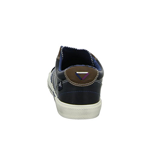 s. Oliver 5–74100–36805Unisexe Enfants fermeture velcro/Chaussons Chaussures basses Sportif sol Bleu - Bleu