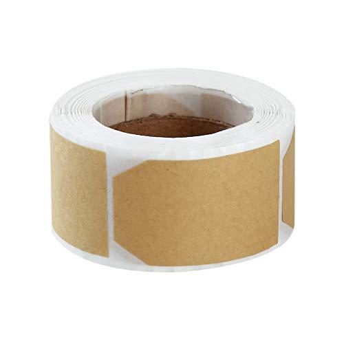 htsgeschenkanhänger Rundes Rechteck Selbstklebendes Geschenketikett Rolle Handwerk Geschenkverpackung Handmade DIY für Geschenkartikel, Typ 2 ()