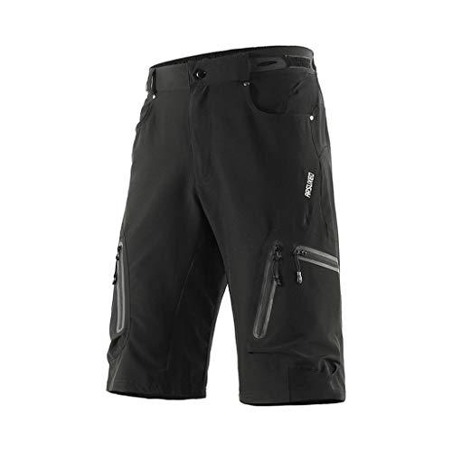 LXIANGP Herren Radhose Outdoor Sports MTB Mountainbike Fahrrad Reithose Wasserdicht Loose Fit Atmungsaktiv Komfort (Color : D, Size : XL)