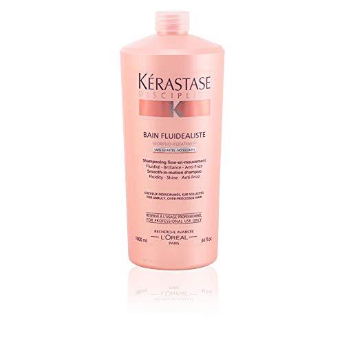 BAIN FLUIDALISTE 1000 ml Sans Sulfate Shampooing lisse-en-mouvement Fluiditè - Brillance - AntiFrizz