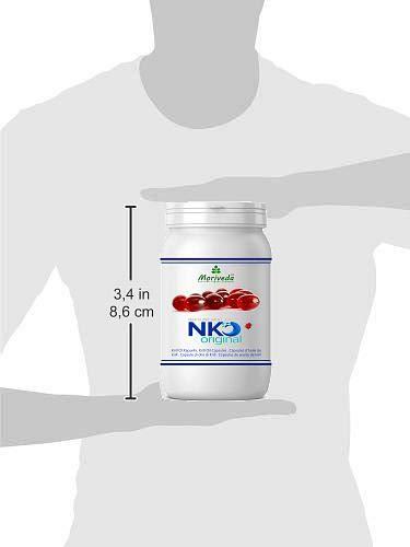 31YCv7KnTkL - NKO aceite de krill cápsulas (ganador de la prueba) 30, 90 o 270 pieza en calidad de farmacia de MoriVeda - Omega 3,6,9 astaxantina, vitamina E, colina, fosfolípidos, aceite de krill (90 cápsulas)