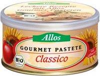 Allos Bio Gourmet Pastete Classico, 125g