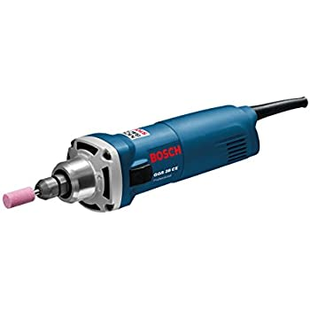 Bosch Professional GGS 28 CE, 650 W Nennaufnahmeleistung, 10.000 – 28.000 min-1 Leerlaufdrehzahl, Spanneinheit (Spannmutter & Spannzange 6 mm)