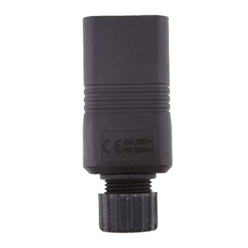 perfeclan IEC 320 C20 16a 250 V Ac Stecker, C20 Männlichen DIY Wiederinstallierbare Stecker, C20 Schraubverschluss -
