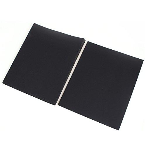 """sourcingmap® 11"""" x 9"""" Papier ponçage abrasifs à sec poussiére 600 Feuille de 10 pièces"""