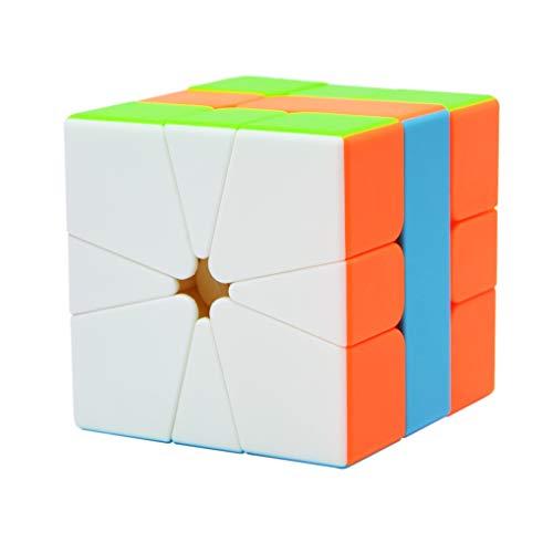 Maomaoyu Square 1 Cube, velocità Square One Cube, Cubo Magico, Regali di Natale per Adulti e Bambini(Stickerless)
