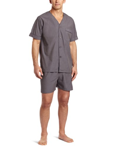 Majestic Cotton Shorty Pyjama - Pijama Hombre Majestic